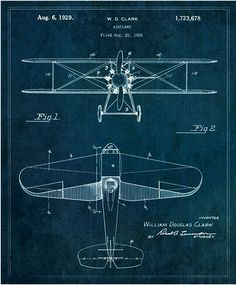 Famous Inventions Showcased in Stylish Vintage Blueprints - My Modern Metropolis