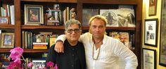 Deepak Chopra and Johan Ernst Nilson