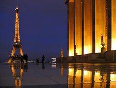 Floating Eiffel Tower II