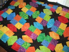 My Magic Star quilt
