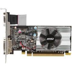 MSI R6450-MD1GD3/LP Radeon HD 6450 Graphic Card - 625 MHz Core - 1 GB DDR3 SDRAM - PCI Express 2.1 x16Low-profile. RADEON 6450 PCIE 1GB DDR3 VGA DVI HDMI 1333MHZ MEM FAN 64BIT V-CARD. 1333 MHz Memory Clock - 2560 x 1600 - CrossFire - Fan Cooler - HDMI - DVI - VGA by MSI. $63.31. Manufacturer/Supplier: Micro-Star International Co., Ltd Manufacturer Part Number: R6450-MD1GD3/LP Brand Name: MSI Product Model: R6450-MD1GD3/LP Product Name: R6450-MD1GD3/LP Radeon HD...