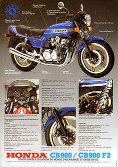 23198. - MOTORCYCLE - HONDA 1981 - CB 900 et CB900 F2 - Garantie 1 AN - 29x41-.