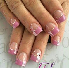 Nail Polish Art, Toe Nail Art, Toe Nails, Pink Nails, Nail Tip Designs, Colorful Nail Designs, Acrylic Nail Designs, Pretty Nail Art, Beautiful Nail Art