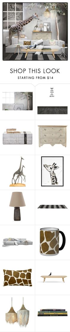 """""""Sin título #143"""" by sally-simpson ❤ liked on Polyvore featuring interior, interiors, interior design, home, home decor, interior decorating, Karl Lagerfeld, Jonathan Adler, NOVICA and Matta"""
