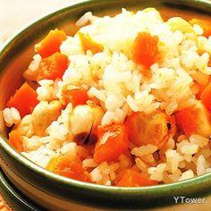 南瓜蓮子飯食譜 - 瓜果類料理 - 楊桃美食網 專業食譜