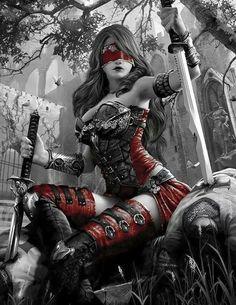fantasy-women-art Enter your pin description here. Dark Fantasy Art, Fantasy Girl, Fantasy Female Warrior, Fantasy Art Women, Fantasy Kunst, Anime Fantasy, Fantasy Artwork, Dark Art, Female Art