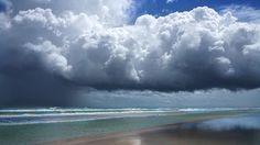 Sun Rain Tropal Storm Hermine