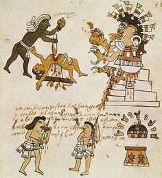 Unknown, Aztec, sacrifice on ArtStack #unknown-aztec #art