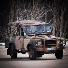 Landy Trivia: the Perentie the Australian Army version of the 110 was actually part manufactured and assembled in Moorebank NSW.