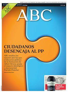 La portada de ABC del domingo 4 de octubre