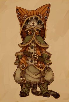 STEAMPUNK Kitty <3