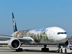 Lord of the Ring 777 from Air New Zealand