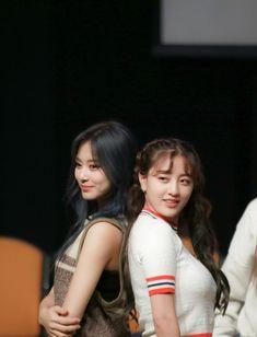 191005 Jihyo and Tzuyu South Korean Girls, Korean Girl Groups, Special Wallpaper, Chou Tzu Yu, Jihyo Twice, Twice Kpop, Tzuyu Twice, Ulzzang Couple, Fans Cafe