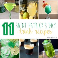 11 Saint Patrick's Day Drink Recipes - A Weekend Crossing