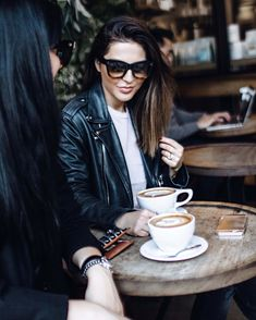 stylish coffee date with sona gasparian