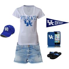 The Kentucky WIldcat Fan Assemble♥