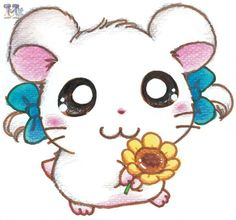 I used to love this cartoon! Hamtaro, Kawaii Chibi, Kawaii Cute, Kawaii Anime, Cute Characters, Cartoon Characters, Manga Anime, Chibi Girl, Animation
