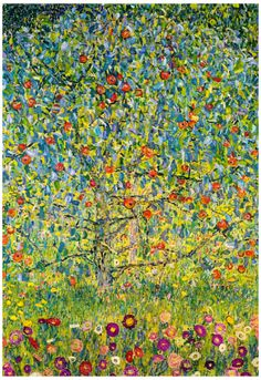 Gustav Klimt Apple Tree Art Print Poster Poster at AllPosters.com