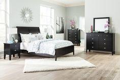 - Description - Dimensions - More Info Ashley Furniture Braflin Sleigh Bedroom…