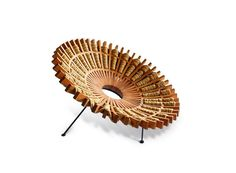 Interwoven Fan-Like Chairs - The Maria Chair Fans Outwards to Mimic Traditional Mexican Dresses (GALLERY)