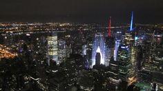 Pikkutalon elämää: New York vapun aattona Empiren katolla