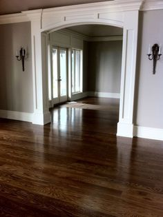 Image result for stained oak floors