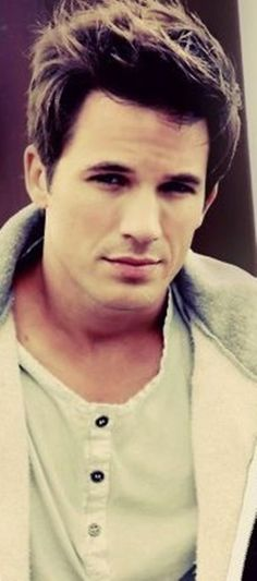 Matt Lanter. Love his hair.