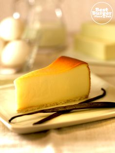 Best New York Cheesecake, a creamy heaven on a plate!