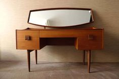 // teak dressing table -- Curated by: OK Estates | 7 - 1960 Springfield rd Kelowna bc v1y 5v7 | 250-868-8108