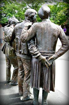 Bronze statues at Queen Elizabeth Park, Vancouver BC