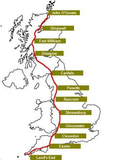 Route John O'Groats to Lands End by Bicycle | Down the Lane