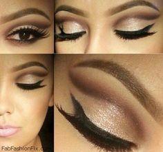 Beauty: Golden Smokey Eye Makeup Tutorial by Lisa Eldridge beautiful smokey eyes step by step | Fashion and Style Trends