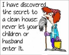 The secret to a Clean house.