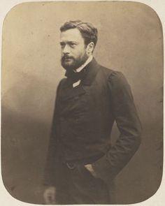 Nadar (Gaspard-Félix Tournachon). Edmond About. 1858