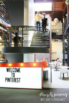 Have you ever wondered what the offices of Pinterest looked like?------> Behind The Scenes At Pinterest headquarters