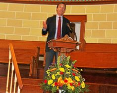 Nature Conservancy's Mark Tercek discusses climate change at Lake Erie College #college