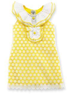 6 9 month yellow dress pattern