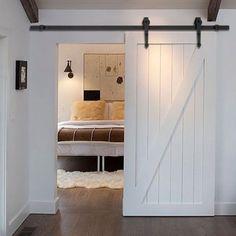 Indoor Sliding Door Barn Set Wood Door Closet Hardware Track System Heavy Duty