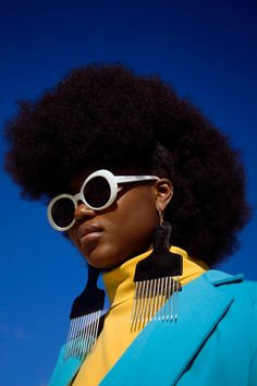 Black Panthers, Black Photography, Editorial Photography, Film Photography, Photography Ideas, Fashion Photography, Afro Comb, Black Girl Aesthetic, Aesthetic Women