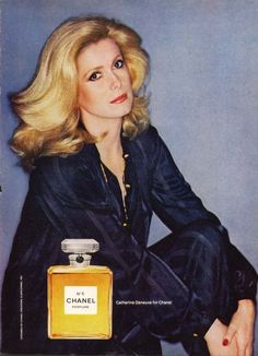 Catherine Deneuve, CHANEL N°5
