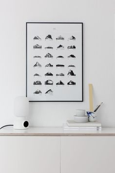 A mountain for every letter of the alphabet, shaped out of different paint strokes on paper.Size: 50cm x 70cm - 170 gThe poster is wrapped with the greatest care and shipped (internationall...