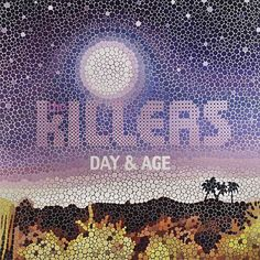29. The Killers: 'Day & Age' (2008) – A classic case of turgid album, amazing album artwork. The Las Vegas rockers drafted in artist Paul Normansell – known for his portraits of David Bowie, Jimi Hendrix and Marilyn Monroe - to create this image of a desert in his trademark dotted paint daubs. While the record cover is undoubtedly lovely, the accompanying portraits of the band themselves are frightening.