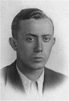 Arie Wilner, a founder of the Warsaw ghetto's Jewish Fighting Organization (ZOB). He was killed in the Warsaw ghetto uprising. Warsaw, Poland, before 1943.  — US Holocaust Memorial Museum