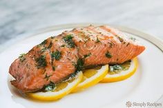 Grilled Salmon With Dill Butter Recipe SimplyRecipes Com. Grilled Salmon With Lemon Dill Sauce Recipe Food Network. Grilled Salmon In Foil Packets With Green Beans . Home and Family Salmon Recipes, Fish Recipes, Seafood Recipes, Cooking Recipes, Healthy Recipes, Grilled Recipes, Tilapia Recipes, Orange Recipes, Healthy Eats