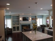 fireplace+with+built+in+bookshelves   Fireplace Bookshelves with TV Inset Design Niche Bookshelves Design