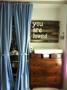 Sweet Nursery- you are loved sign