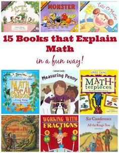 25 Marvelous Math Picture Books for Kids Awesome books for teaching math concepts to kids the perfect idea for kids who love to read but don't like math! The post 25 Marvelous Math Picture Books for Kids appeared first on School Ideas. Math For Kids, Fun Math, Math Activities, Maths, Math Math, Math Stem, Math Literacy, Math Games, Math Classroom
