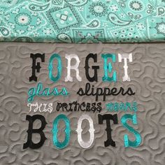 Embroidery Design Forget glass slippers this princess wears Embroidery Ideas, Machine Embroidery, Reading Pillow, Glass Slipper, Burp Cloths, Bibs, Baby Ideas, Quilting, Forget