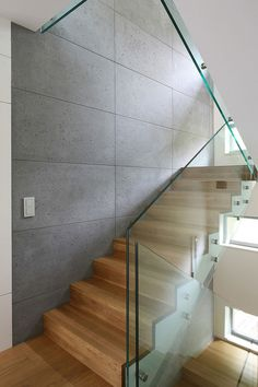 62 Modern Interior Stairs Design - Home Decorations Trend 2019 Wooden Staircase Railing, Wood Stairs, House Stairs, Staircase Design, Interior Stairs, Interior Exterior, Modern Interior, Stair Walls, Stairs Architecture