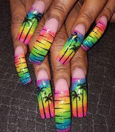 Rainbow nails  by Oli123 from Nail Art Gallery